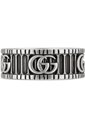 Gucci Doppel G Ring aus Silber