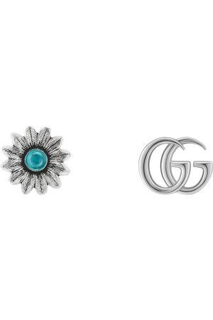Gucci Damen Uhren - Doppel G und Blumen-Ohrstecker