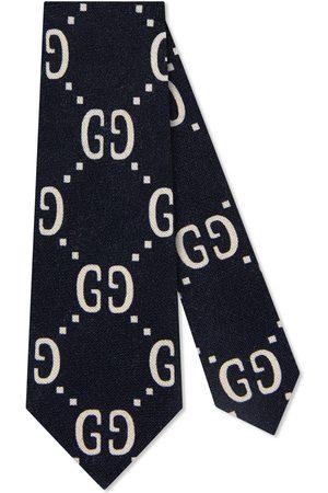 Gucci Kinder Krawatte aus Wolle und Seide mit GG