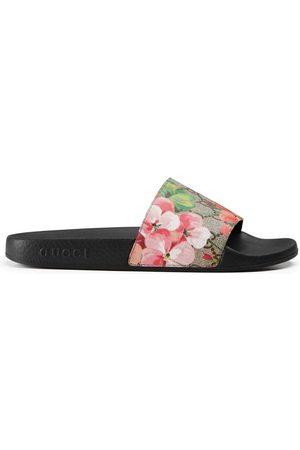 Gucci Damen Clogs & Pantoletten - Pantolette aus GG Blooms