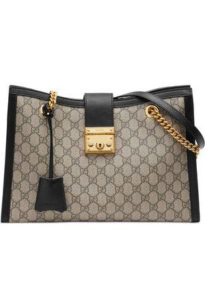 Gucci Damen Umhängetaschen - Mittelgroße Padlock GG Schultertasche