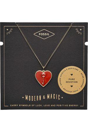 Fossil Halsketten - Halskette - Heart and Key - JF03297710