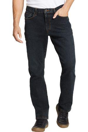 Eddie Bauer Herren Straight - Flex Jeans - Straight Fit Gr. 38 Länge 32