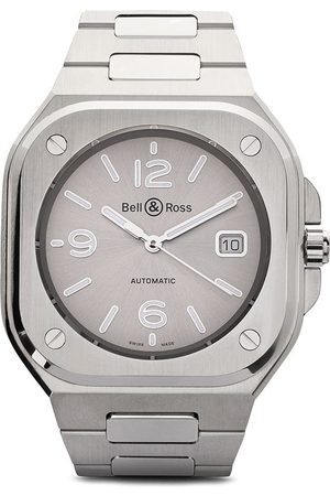 Bell & Ross BR 05' Armbanduhr, 40mm - GREY AND SILVER GREY