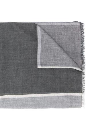 Brunello Cucinelli Herren Schals - Schal in Colour-Block-Optik