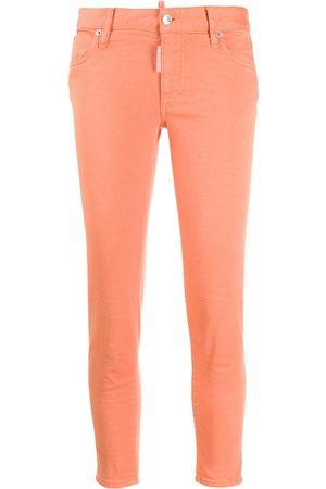 Dsquared2 Halbhohe Skinny-Jeans
