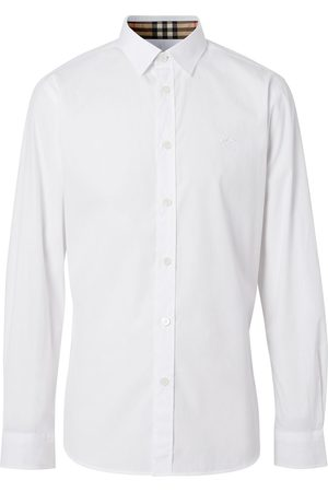 Burberry Oxford-Hemd mit Logo-Stickerei