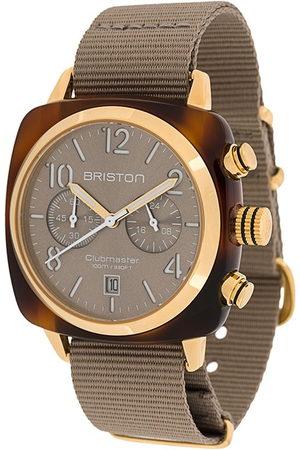 Briston Clubmaster Classic' Armbanduhr, 40mm - Nude