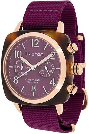 Briston Clubmaster Classic' Armbanduhr, 40mm - Cardinal Grape