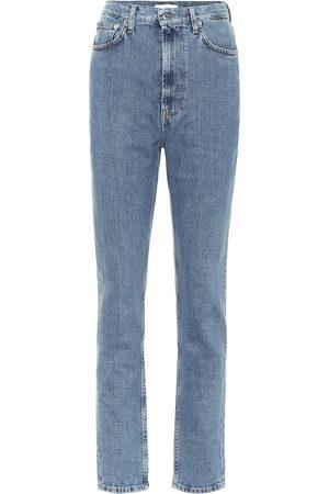 Helmut Lang High Rise Slim-Straight Jeans