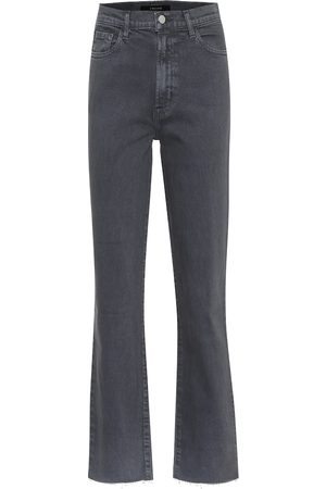 J Brand High-Rise Straight Jeans Jules