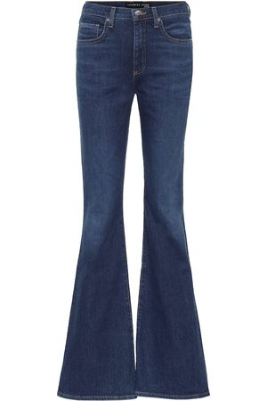 VERONICA BEARD High-Rise Flared Jeans Beverly