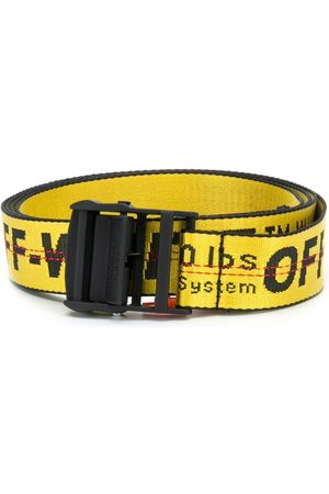 OFF-WHITE Logo print belt