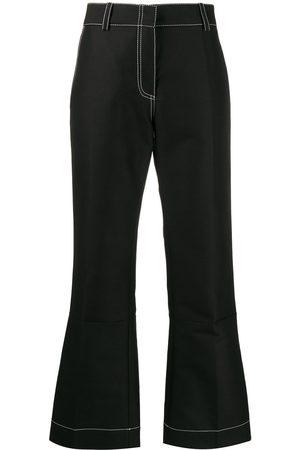 Marni Pencil-cut flared trousers