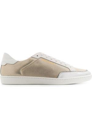 Saint Laurent Textured low-top sneakers