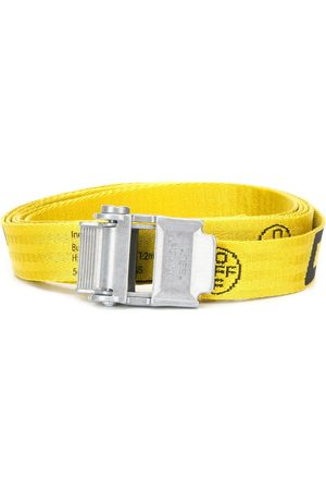 OFF-WHITE MINI 2.0 INDUSTRIAL BELT YELLOW BLACK