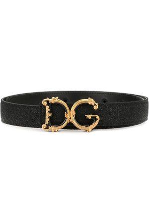 Dolce & Gabbana D&G baroque logo belt