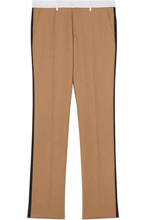 Burberry Side stripe tailored trousers - Nude