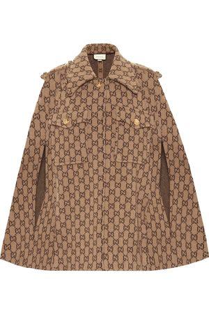 Gucci Cape GG aus Wolle