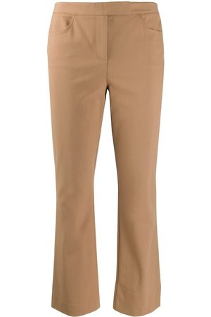 THEORY Cropped tailored trousers - Nude