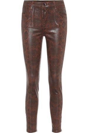 J Brand High-Rise Skinny Jeans Alana
