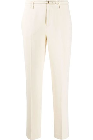 RED Valentino Belted tailored trousers - Nude