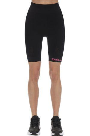Karl Lagerfeld Rue S Guillaume Jersey Biker Shorts