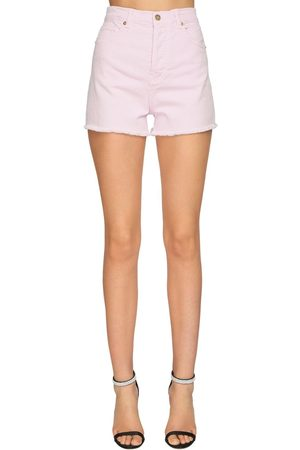 ALEXANDRE VAUTHIER Stretch Denim Shorts