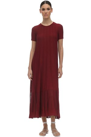 Agnona Viscose & Cotton Knit Dress