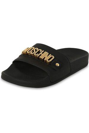 Moschino Sandalen Aus Gummi Und Leder