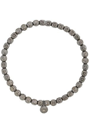 Tateossian Armband mit eckigen Perlen