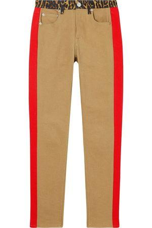 Burberry Skinny-Jeans mit Leoparden-Print - Nude