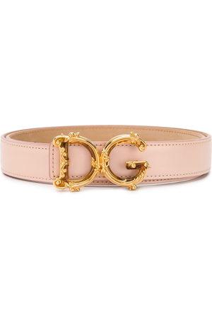 Dolce & Gabbana D&G Baroque buckle belt