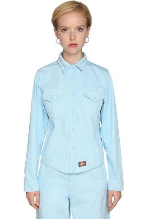 Marc Jacobs Damen Blusen - Cotton Denim Work Shirt