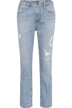 AG Jeans High-Rise Straight Jeans The Isabelle