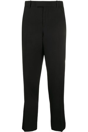 Bottega Veneta Cropped straight-fit trousers