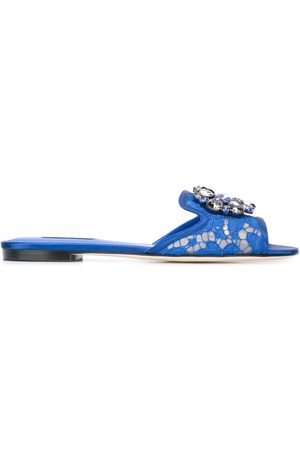 Dolce & Gabbana Bianca' Pantoletten
