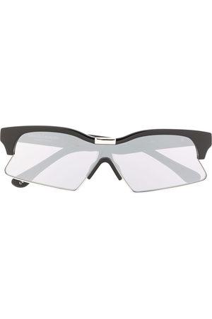 MARCELO BURLON Eckige Sonnenbrille