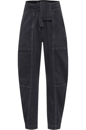 ULLA JOHNSON High-Rise Jeans Storm