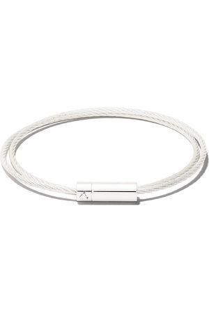 Le Gramme Le 9 Grammes Double Cable bracelet - SILVER