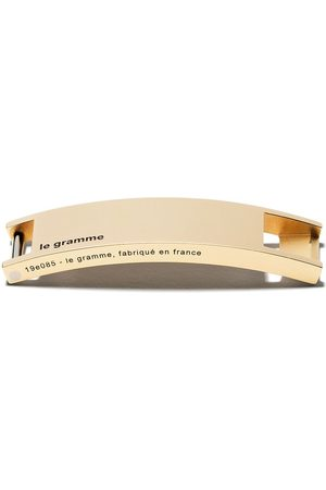 Le Gramme 18kt polished yellow gold Assemblage exchange top piece - SILVER