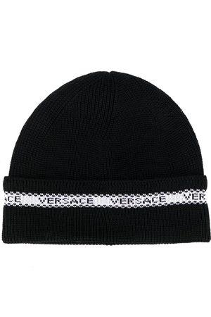 Versace Mütze mit Logo-Detail