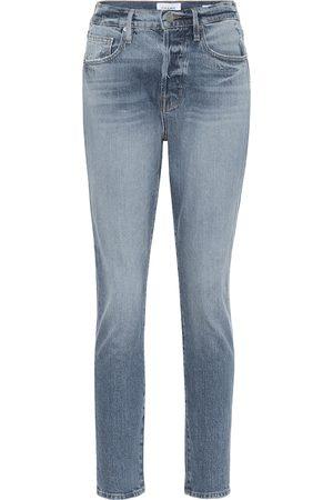 Frame High-Rise Skinny Jeans Le Original