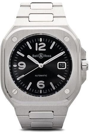 Bell & Ross BR 05' Armbanduhr, 40mm - BLACK AND SILVER GREY