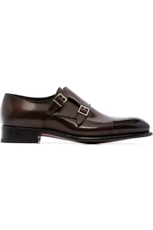 Santoni Herren Elegante Schuhe - Monk-Schuhe mit doppeltem Riemen