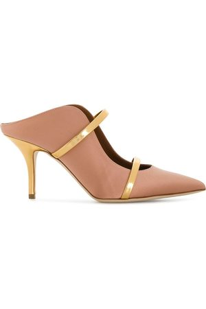MALONE SOULIERS Maureen' Mules - Nude