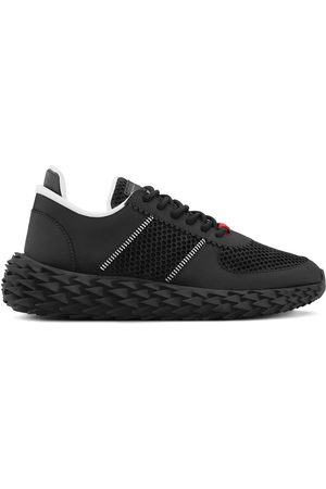 Giuseppe Zanotti Low top ridged mesh sneakers