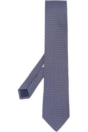 Salvatore Ferragamo Krawatte mit Gancini-Print