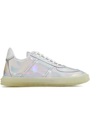Giuseppe Zanotti Low top holographic effect sneakers