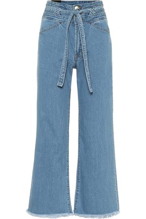 J Brand High-Rise Wide Jeans Sukey